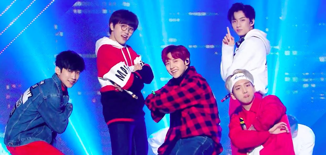 "B1A4, Hyoyeon, B.A.P y otros artistas actúan en ""Music Core"""