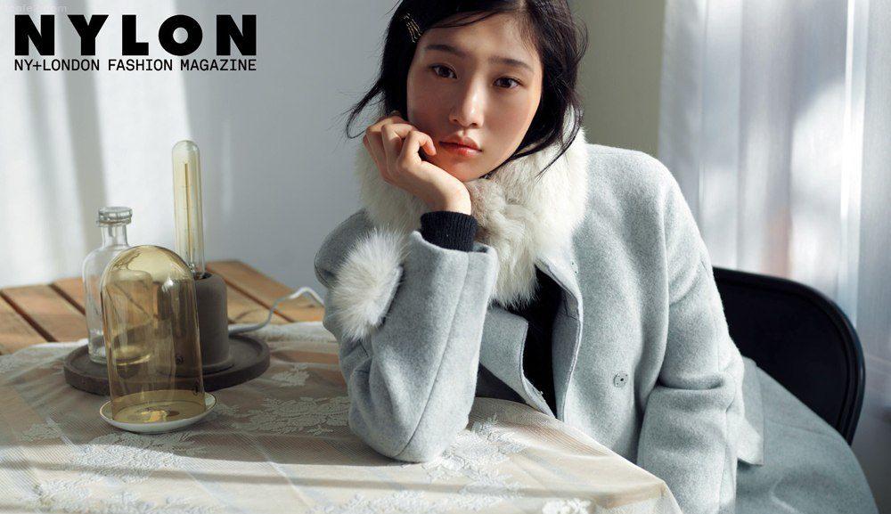 Jung Chaeyeon de DIA es una musa de invierno para la revista Nylon