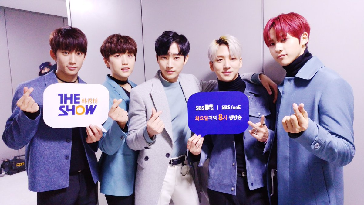 """B1A4 obtiene el primer lugar con """"A Lie"""" en el último episodio del año de """"The Show"""""""