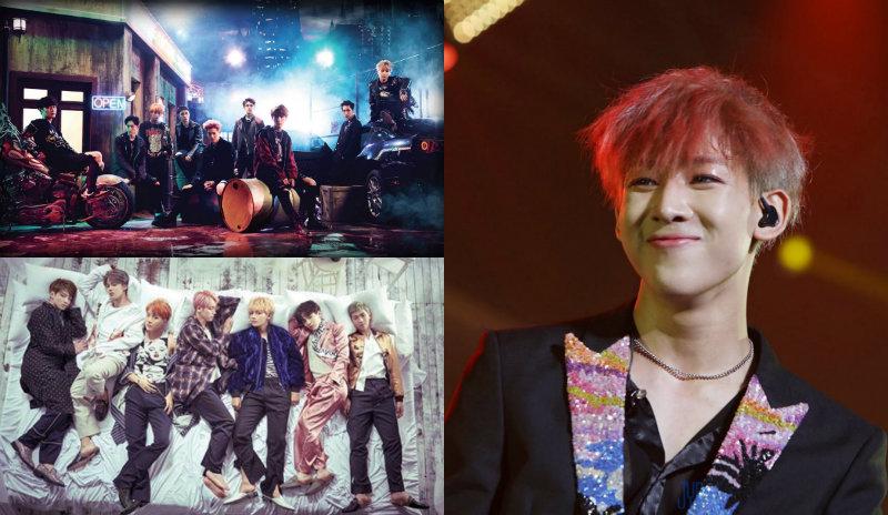 El K-Pop domina las tendencias en Twitter, incluyendo a miembros de EXO, BTS y GOT7