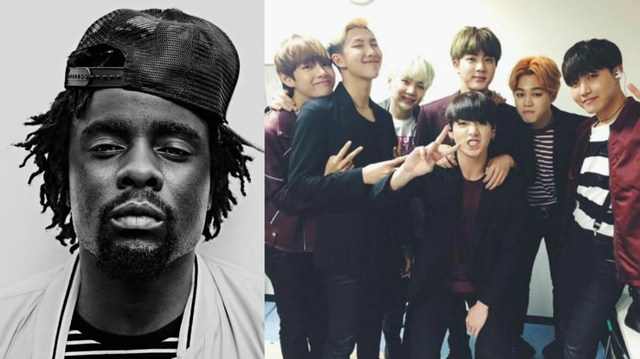 El rapero estadounidense Wale expresa su amor por BTS