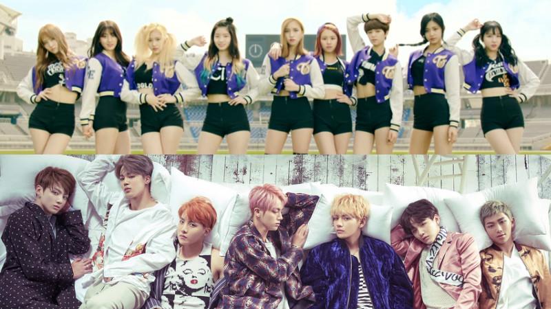 TWICE y BTS encabezan las listas de Gaon de 2016