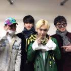 Los miembros de WINNER muestran su apoyo a Kim Jinwoo y a su presentación