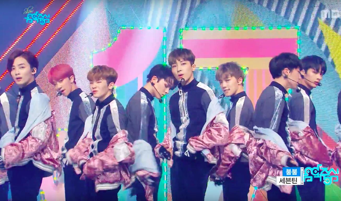 """SEVENTEEN, B1A4, UP10TION, y más actúan en """"Music Core"""""""
