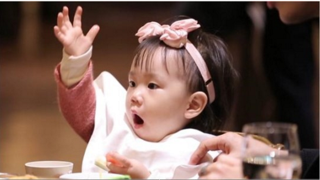 "Rohee empieza a hablar por primera vez en ""The Return Of Superman"""