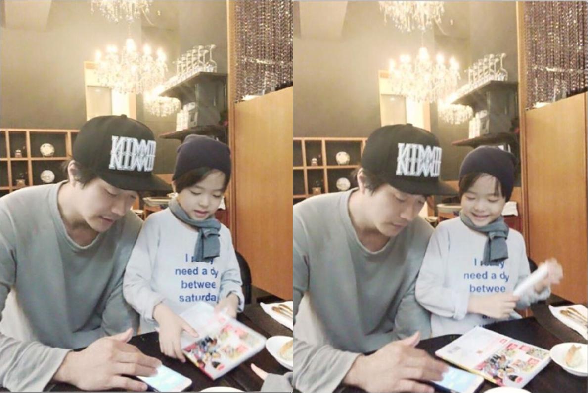 El hijo de Kwon Sang Woo le advierte sobre las escenas de beso