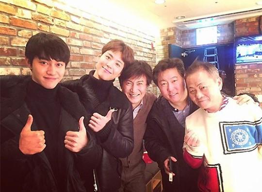 "Park Bo Gum, Kwak Dong Yeon y Ahn Nae Sang se reencuentran tras ""Moonlight Drawn By Clouds"""
