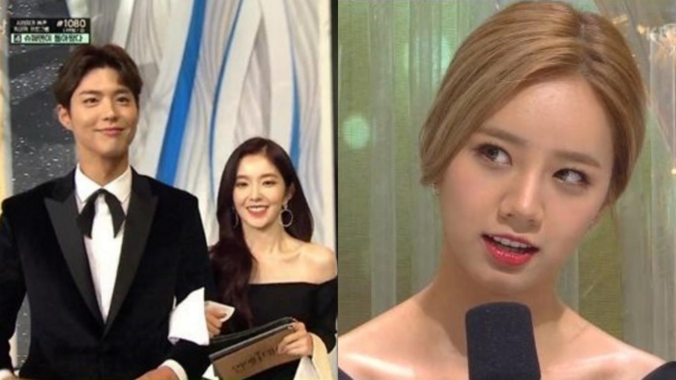 Park Bo Gum se reúne con Irene y Hyeri en los 2016 KBS Entertainment Awards, nombra al actor con quien quiere trabajar