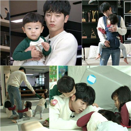 Seo Kang Joon se convierte en el nuevo hermano favorito (no tío, él insiste) de Daebak, Seol Ah y Soo Ah