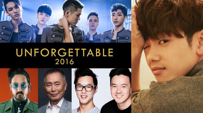 Revive la más grande celebración de talento asiático-americano en Hollywood con The 2016 Unforgettable Gala