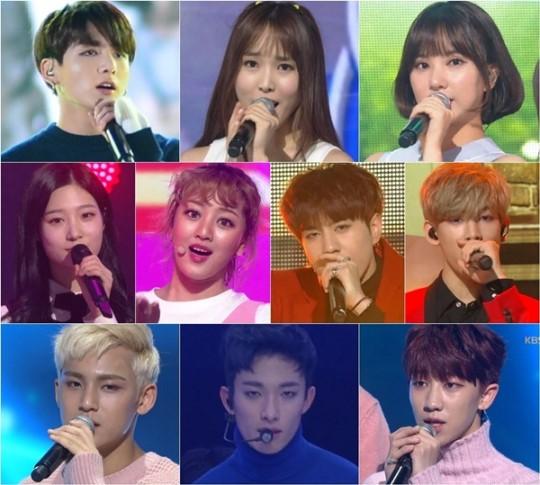 """Artistas K-Pop de la """"'línea 97"""" colaborarán en el 2016 KBS Song Festival"""