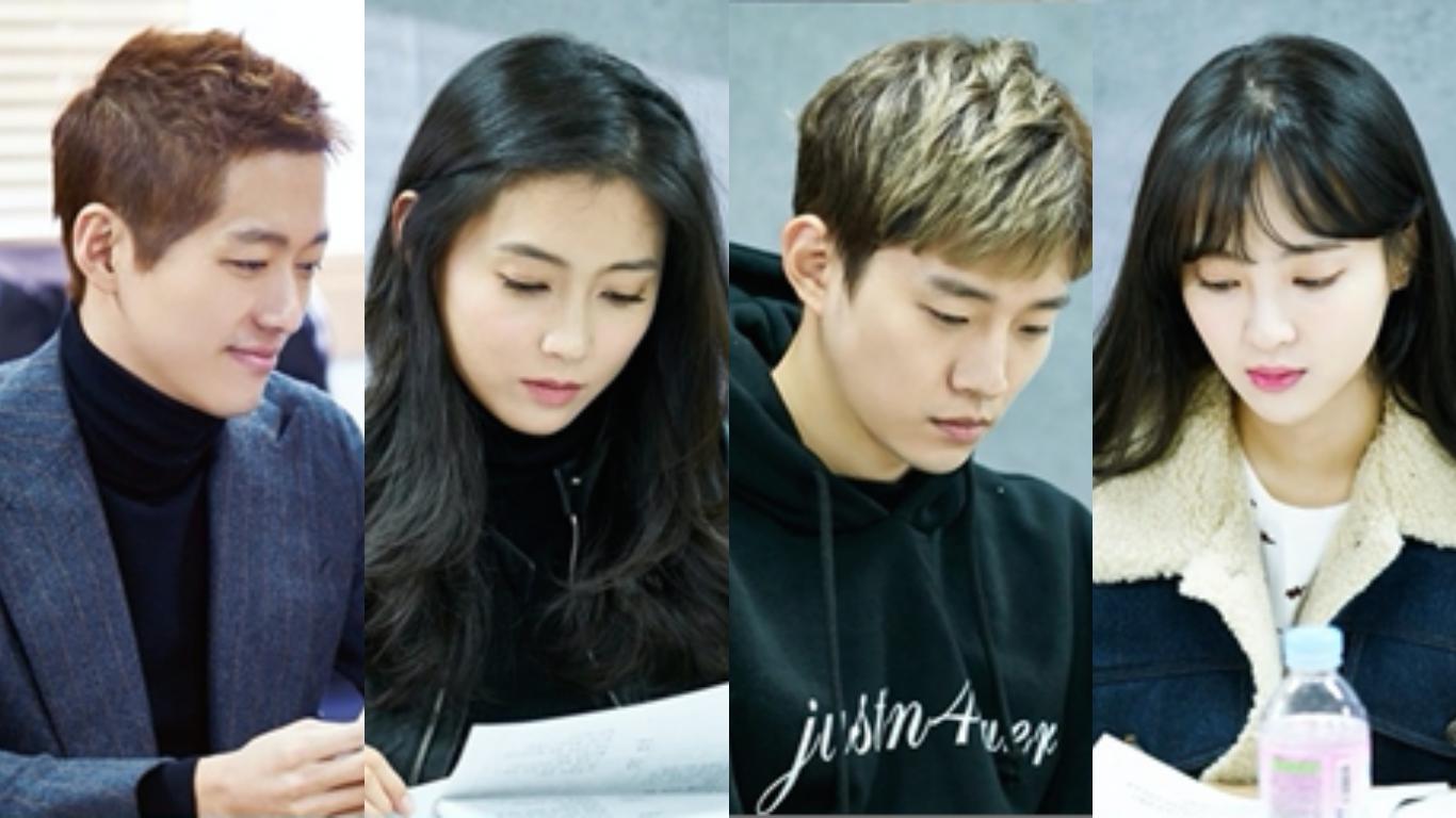 "Namgoong Min, Nam Sang Mi, Junho de 2PM y Jung Hye Sung se reúnen para la lectura de guion del próximo drama, ""Chief Kim"""