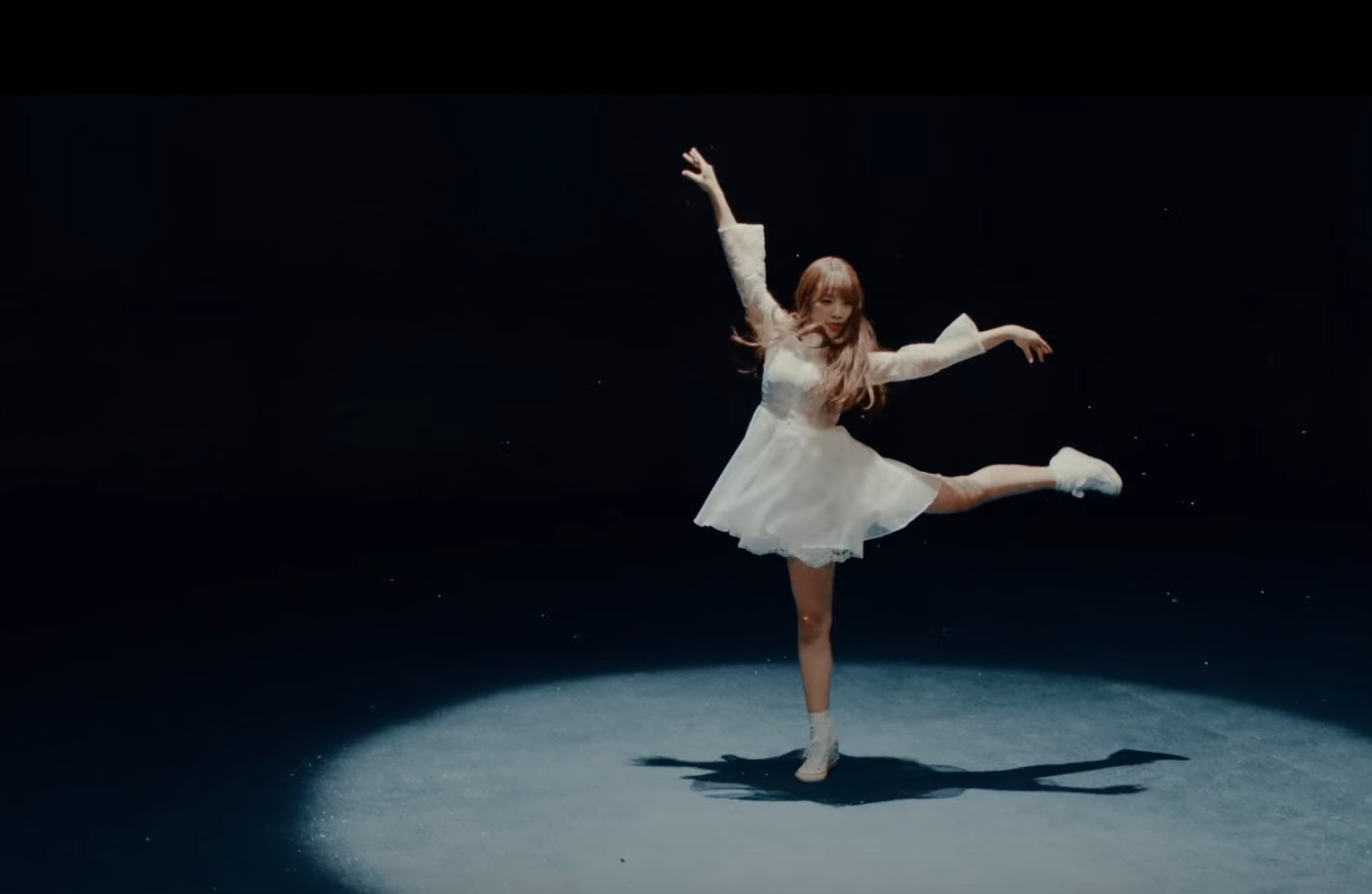 "Rachel de APRIL es una bailarina etérea en el teaser de baile de ""April Story"""