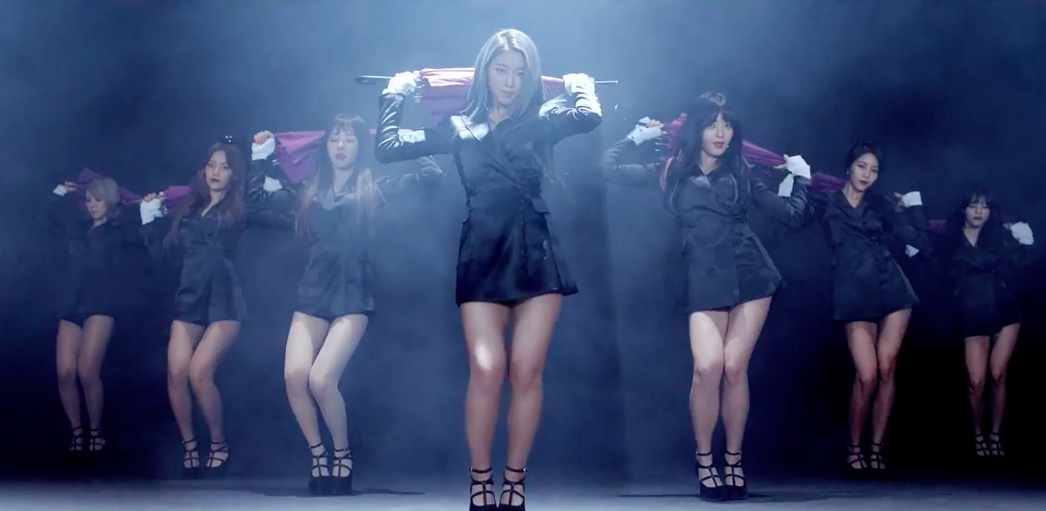 "AOA lanza el teaser ""Magic Of Umbrella"" para el MV de ""Bing Bing"""