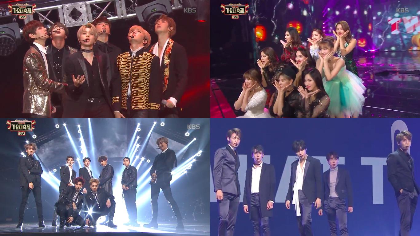 "BTS, EXO, SHINee, TWICE, GOT7, GFRIEND y muchos más se presentan en ""2016 KBS Song Festival"""