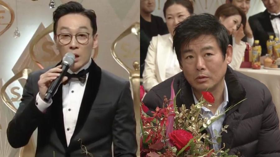 Lee Hwi Jae criticado por sus comentarios hacia Sung Dong Il durante los 2016 SBS Drama Awards + Lee Hwi Jae se disculpa por sus comentarios