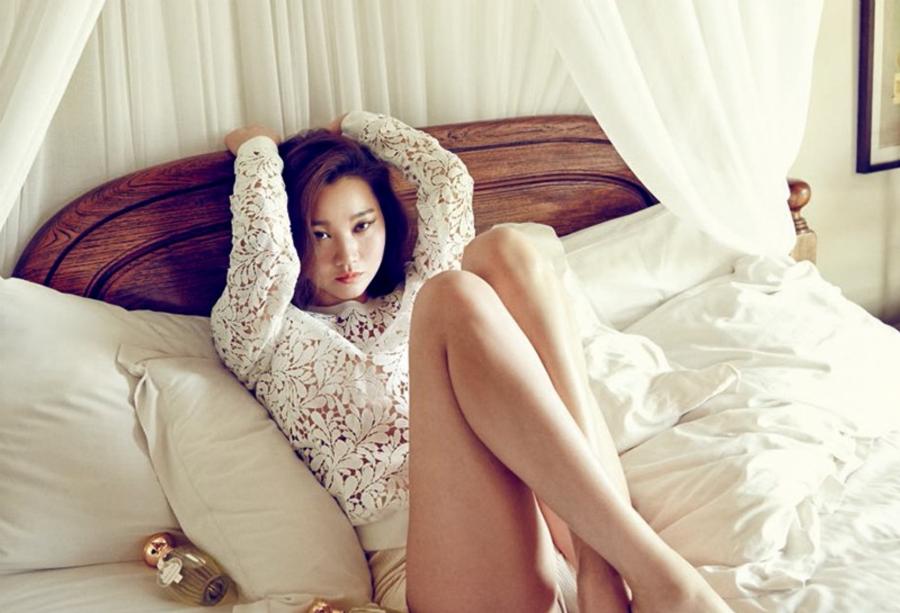 La modelo Jang Yoon Joo da a luz a su primer hijo
