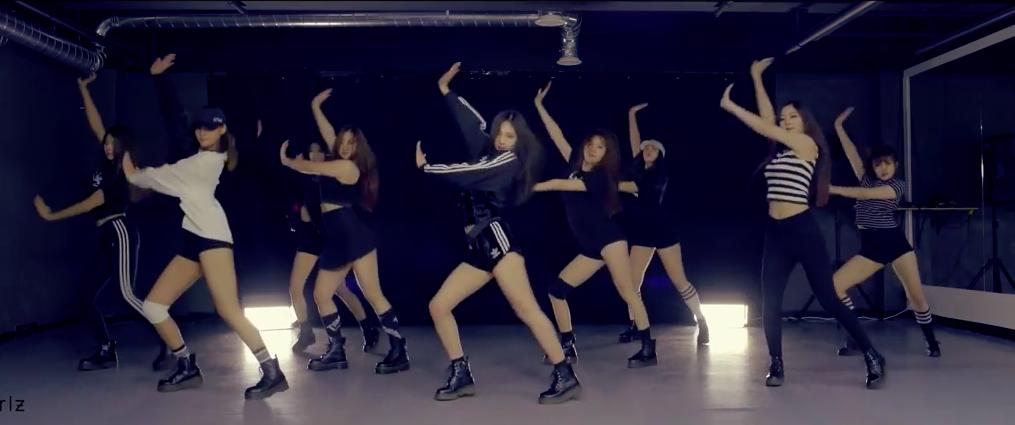 """Pledis Girlz realiza la cover de """"Catch Me If You Can"""" de Girls' Generation como segundo proyecto de debut"""