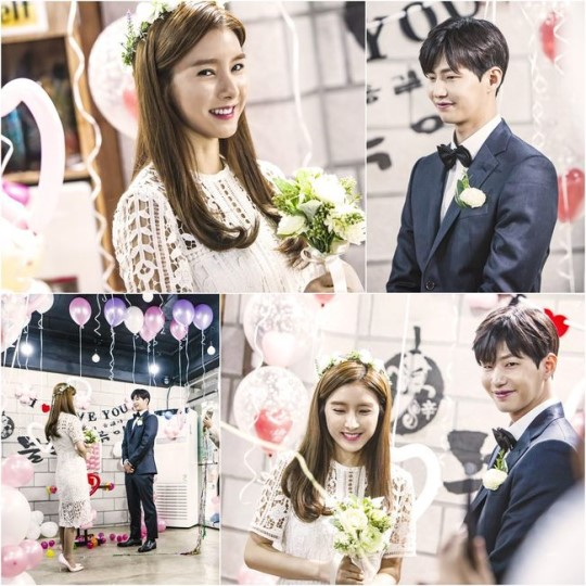 "Song Jae Rim y Kim So Eun tienen una dulce y única ceremonia de compromiso en ""Our Gap Soon"""