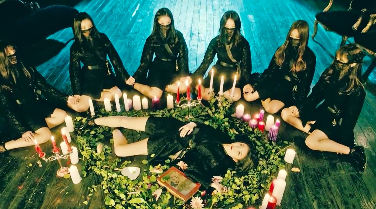 "Dream Catcher (anteriormente MINX) revela escalofriante video musical para ""Chase Me"""