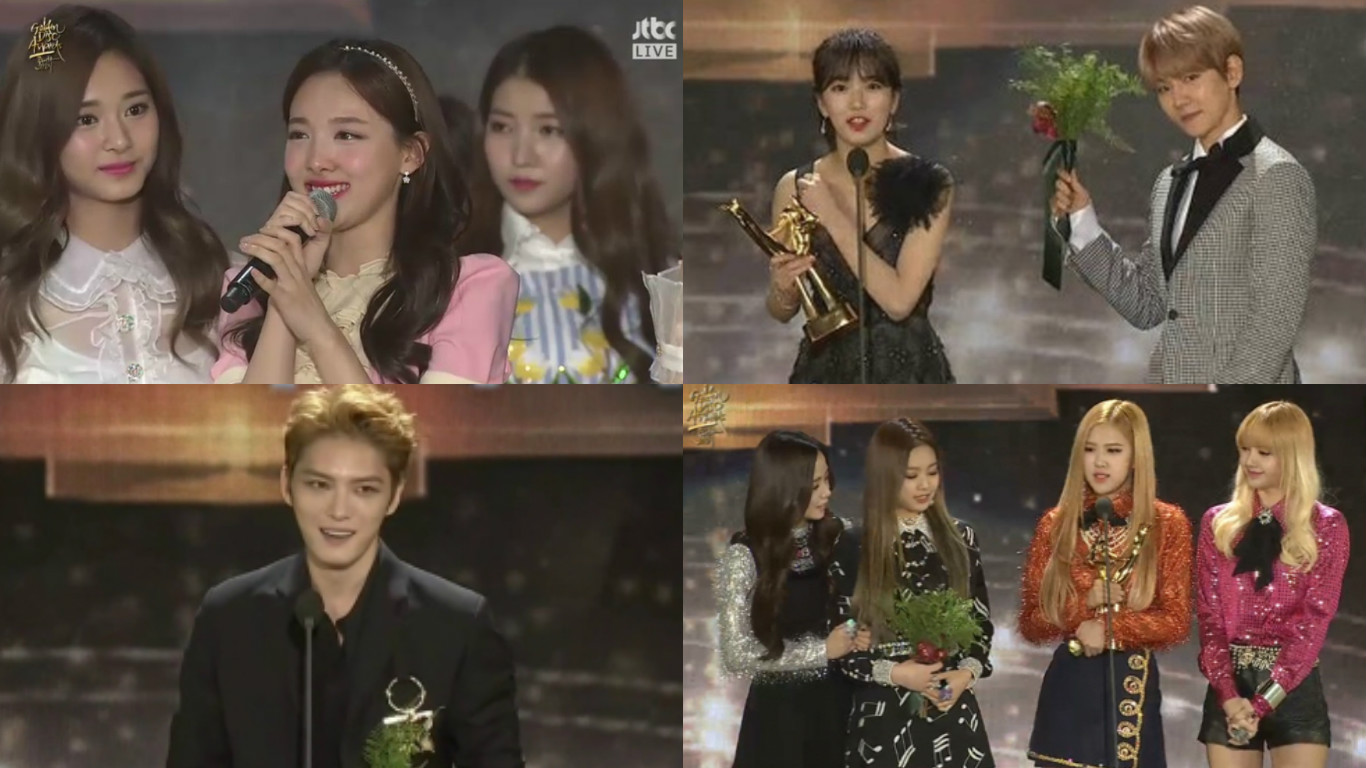 Ganadores de los 31st Golden Disc Awards