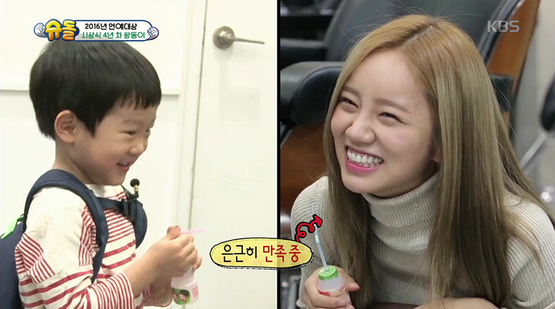 Seo Eon y Seo Jun adivinan la edad de Hyeri de Girl's Day + se reúnen con Seolhyun y Hyejeong de AOA