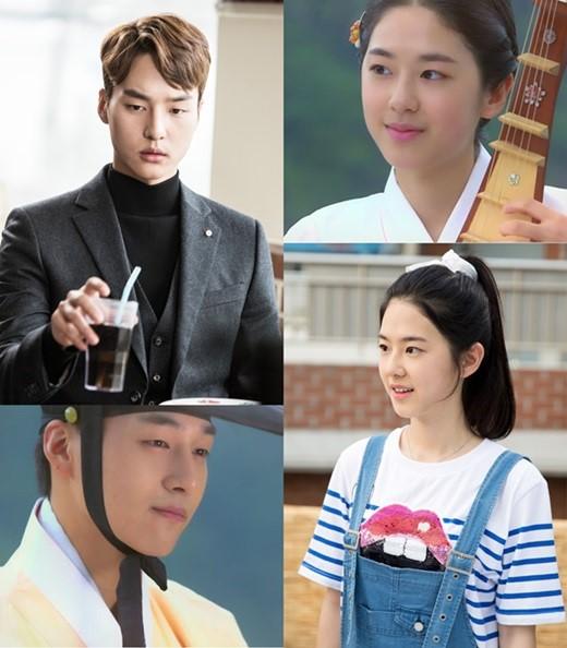 """Park Hye Soo y Yang Se Jong son las versiones jóvenes de Lee Young Ae y Song Seung Heon en """"Saimdang, Light's Diary"""""""