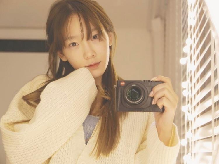 Taeyeon de Girls' Generation hace callar a los haters de Instagram con una serie de fotos