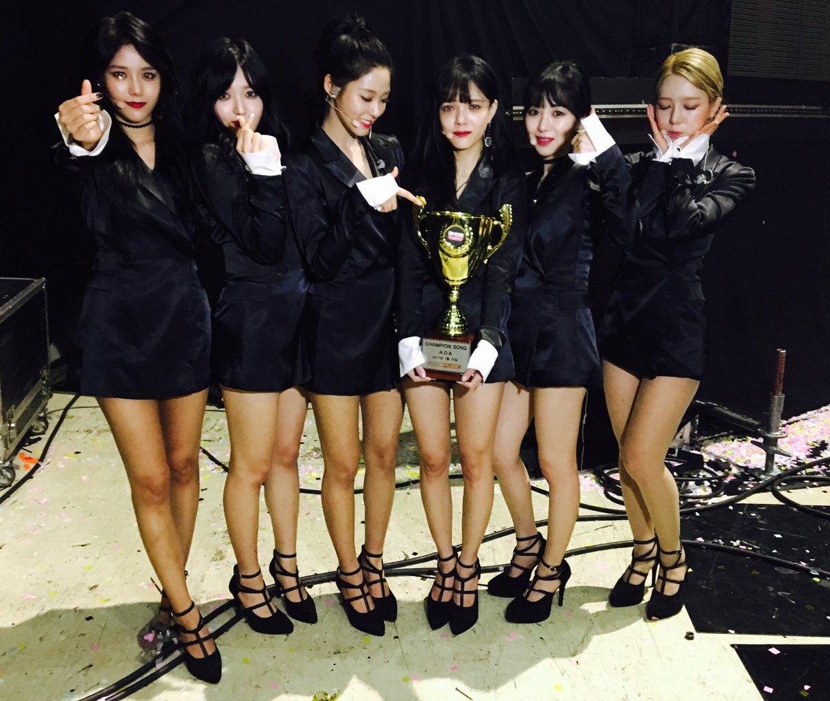 """AOA consigue su primera victoria para """"Excuse Me"""" en """"Show Champion"""", actuaciones de NCT 127, CLC y más"""