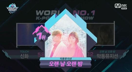 """Akdong Musician gana con """"Last Goodbye"""" en """"M!Countdown"""", actuaciones de Seohyun, Shinhwa y más"""