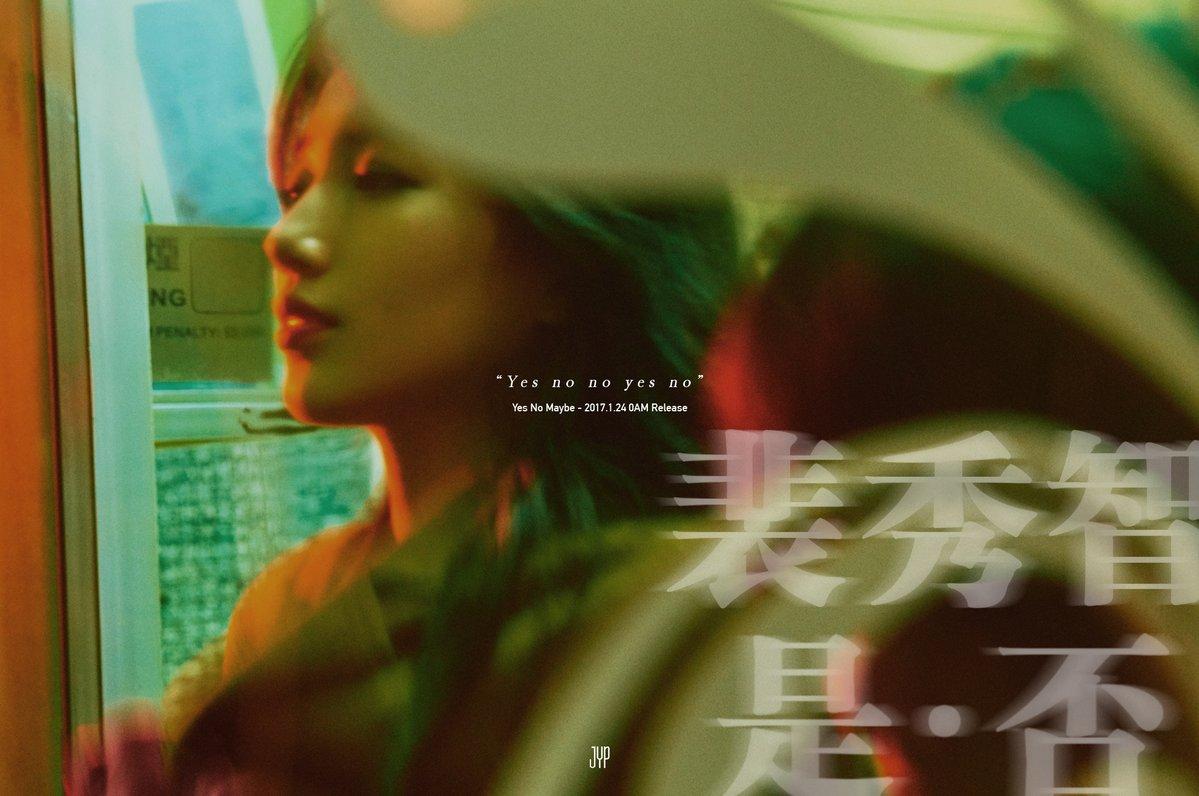 "Suzy revela melancólicas imágenes teasers para ""Yes No Maybe"""