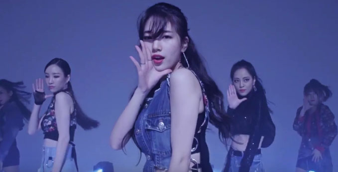 """Suzy muestra un baile seductor en la versión de baile de """"Yes No Maybe"""""""