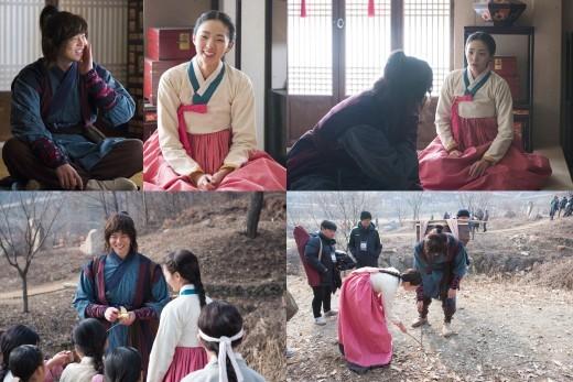 Yoon Kyun Sang y Chae Soo Bin se ven adorables juntos incluso cuando filman escenas intensas