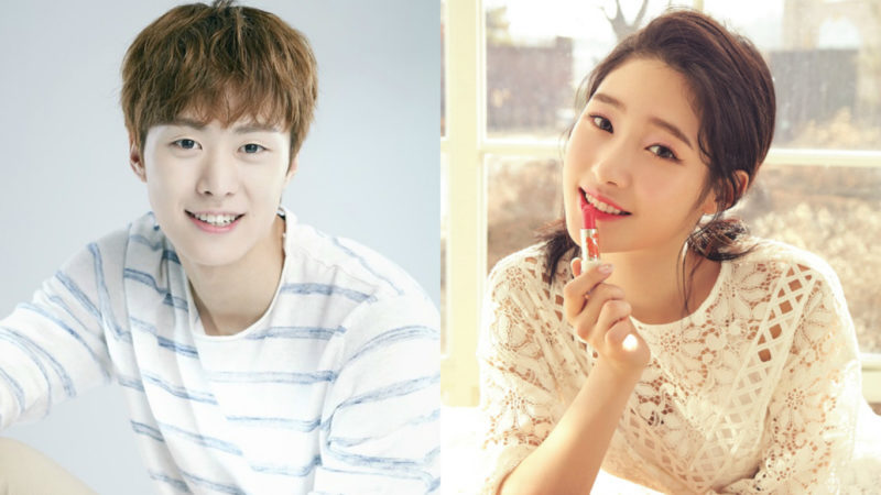 "Gong Myung y Jung Chaeyeon de DIA se reúnen en el set de ""Beauty View"""