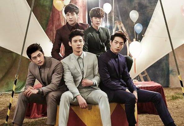 """Los miembros de 5urprise ayudarán a Gong Myung en su propuesta en """"We Got Married"""""""