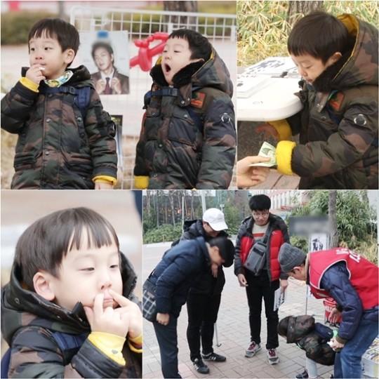 Seo Eon y Seo Jun se convierten en adorables vendedores de revistas para ayudar a personas sin hogar