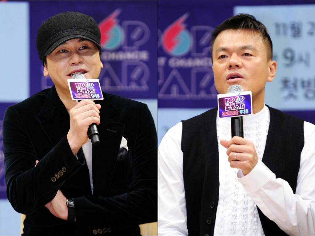 Yang Hyun Suk dice que Park Jin Young es mejor que él para crear grupos de chicas