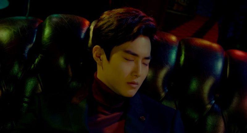 """Suho de EXO protagoniza video teaser para su próxima pista de colaboración de SM Station, """"Curtain"""""""