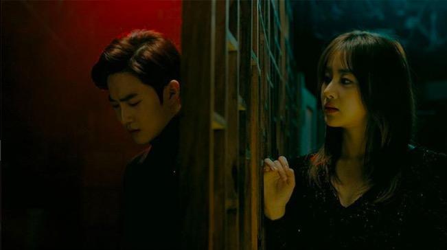 """Suho de EXO y Kang Sora protagonizan el vídeo teaser de """"Curtain"""""""