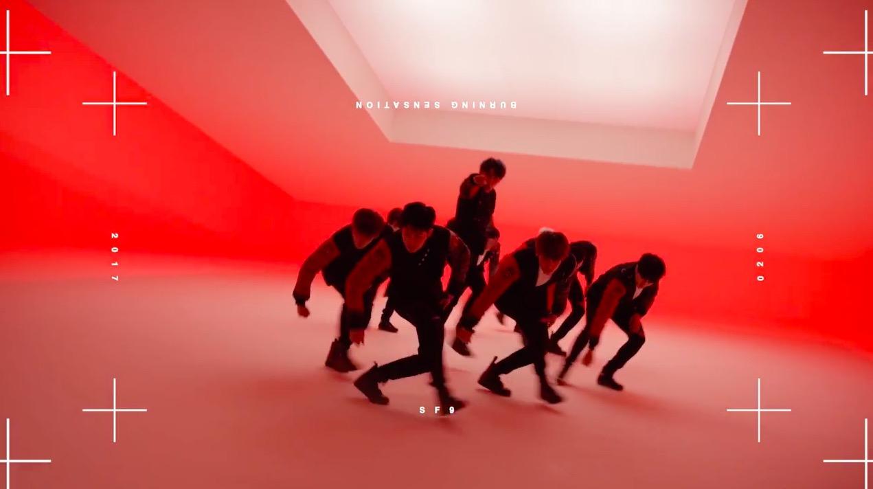 """El nuevo MV teaser de SF9 ofrece un vistazo de su genial baile para """"Roar"""""""