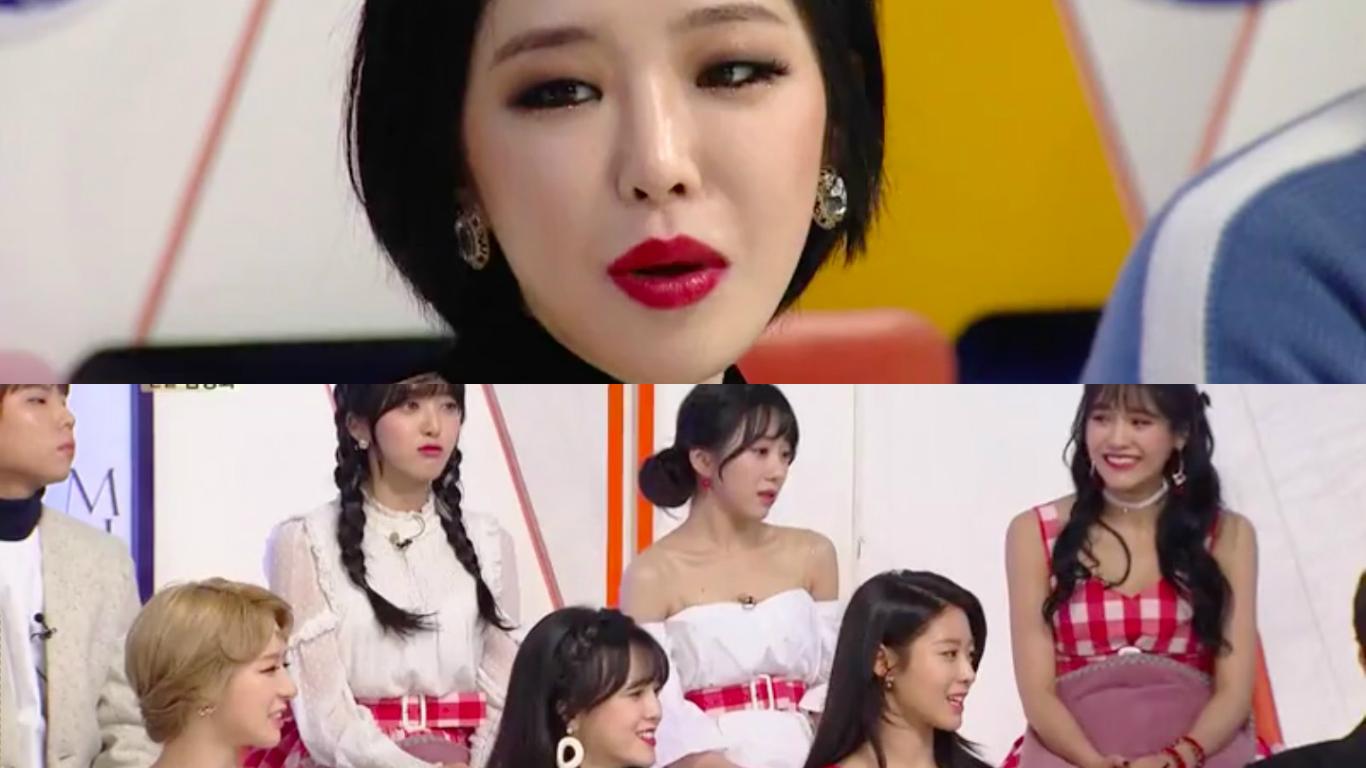 Ga In nombra a la integrante de AOA que más se parece a ella