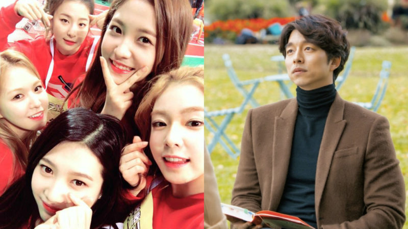 Red Velvet elige a Gong Yoo como su tipo ideal