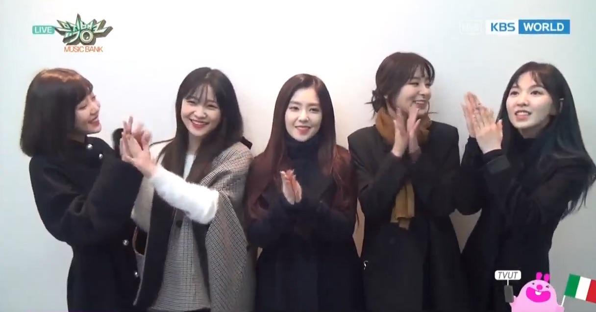 """Red Velvet obtiene 4ta victoria con """"Rookie"""" en """"Music Bank"""" – Presentaciones de NCT Dream, SF9, CLC y más"""