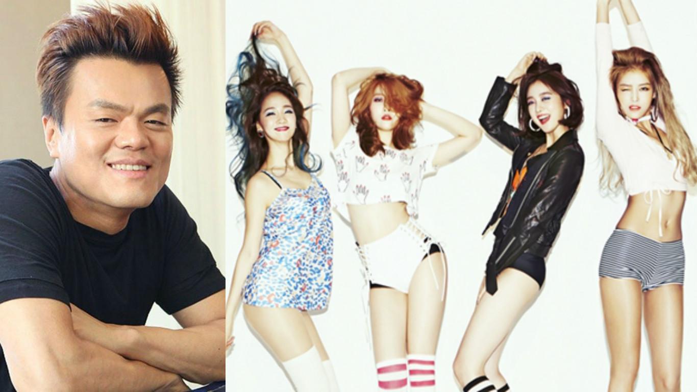 Park Jin Young escribe un emotivo mensaje para Wonder Girls tras su separación