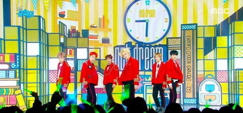 "NCT DREAM, SF9, Cross Gene y más actúan en ""Music Core"""