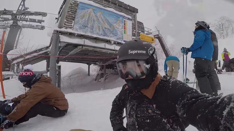 Chanyeol de EXO publica video musical hecho por él en reciente viaje de snowboarding
