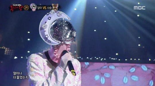 """Miembro de un grupo novato femenino conmueve los corazones con su presentación en """"King Of Masked Singer"""""""