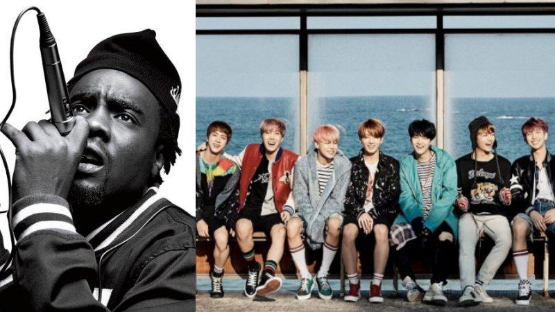 El rapero Wale da indicios de una potencial colaboración con BTS