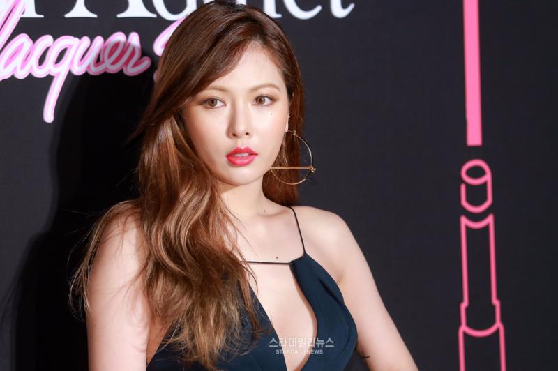 HyunA, Ga In, Hyorin y Sojin brillan como diamantes en evento de Dior