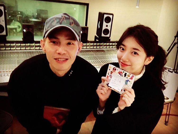 Confirmada colaboración de Suzy con el cantante Park Won